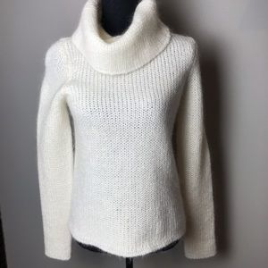 Lauren Ralph Lauren cream cowl neck knit sweater